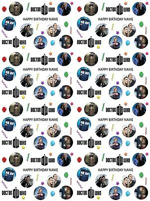 £3.59 • Buy Doctor Who Personalised Birthday Gift Wrapping Paper ADD NAME CHOOSE BACKGROUND