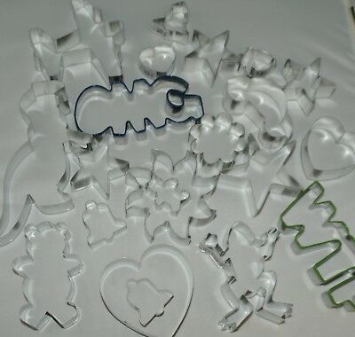 Cookie Cutter Cake Pastry Biscuit Cutters Over 40 To Choose UK  Seller  • 2.49£