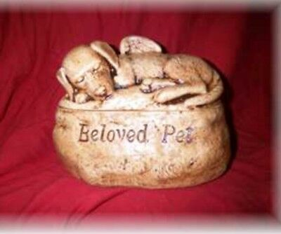 $39.99 • Buy Ceramic/Pet/ Dog Urn Cremation/memorial/angel