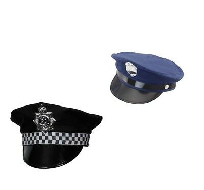£21.95 • Buy Adult Policeman WPC Police New York Cop Panda Fancy Dress Costume Outfit Cap Hat