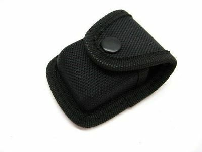 $2.79 • Buy CARRY ALL Black Nylon LIGHTER Belt POUCH Sheath W/ Snap Closure SH281 New!