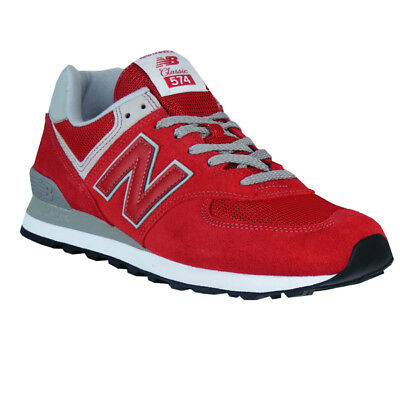 new balance ml574 uomo rosse
