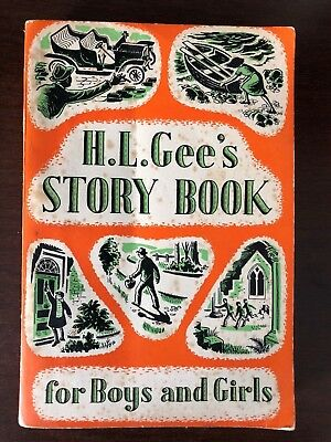 H.l. Gee's Story Book For Boys And Girls - The Epworth Press - P/b - 1958 • 14.99£