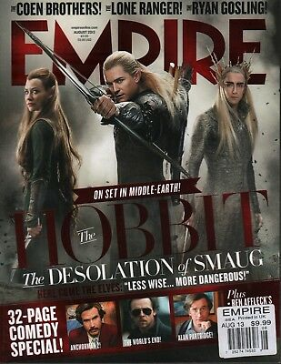 £12.74 • Buy Empire August 2013 The Hobbit The Worlds End 031518DBE
