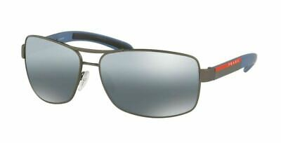 5b551076371 Authentic Prada Linea Rossa 0PS 54IS DG12F2 GUNMETAL RUBBER Sunglasses •  214.99