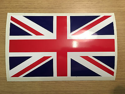 UK GB Union Jack Flag Vinyl Sticker Decal For Your Car Motor Bike Exterior Grade • 3.50£