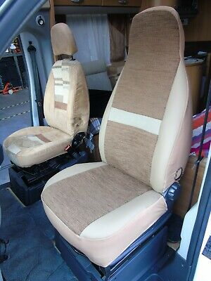 To Fit A Fiat Ducato Motorhome,seat Covers, Penelope Mh-493 • 79.99£