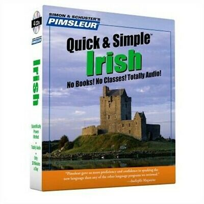 £11.65 • Buy Pimsleur Irish Quick & Simple Course - Level 1 Lessons 1-8 CD: Learn To Speak An