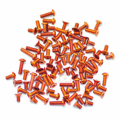 ARROWMAX Aluminium Screws Set For Xray T4 Orange 1:10 RC Cars Touring #AM-141006 • 47.04£