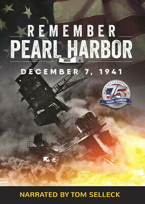 Remember Pearl Harbor Narrated By Tom Selleck (REGION 1 DVD New) • 20.34£