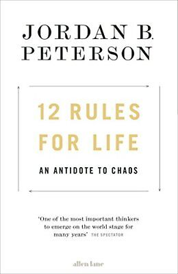 AU11.55 • Buy 12 Rules For Life: An Antidote To Chaos,Jordan B. Peterson
