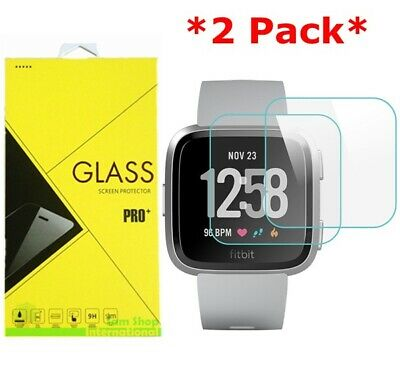 $ CDN3.96 • Buy 2-Pack Tempered Glass Screen Protector For Fitbit Versa & Versa Lite Watch