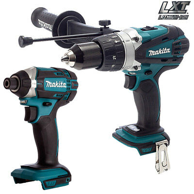 £152 • Buy Makita 18V DHP458Z Combi Drill With DTD152Z Impact Driver Twin Kit Body Only