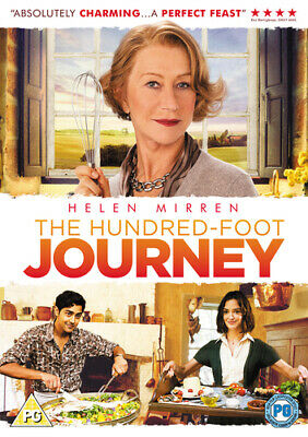 The Hundred-foot Journey DVD (2015) Helen Mirren, Hallström (DIR) Cert PG • 2.22£