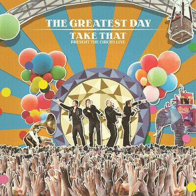 Take That : The Greatest Day: Take That Presents The Circus Live CD 2 Discs • 1.74£