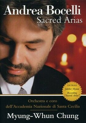 $9.99 • Buy Andrea Bocelli Sacred Arias (dvd, 2000) Includes Insert