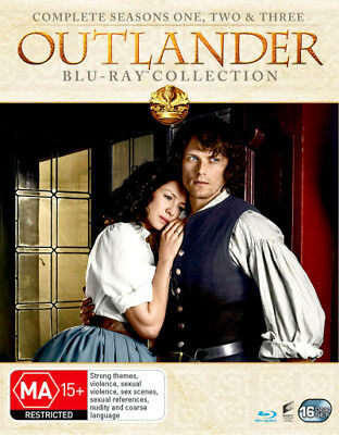 AU114.95 • Buy OUTLANDER The Complete Season Series 1, 2 & 3 Blu Ray Box Set RB New Sealed