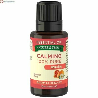 $9.05 • Buy Nature's Truth Calming Essential Oil Relaxing Aromatherapy Citrus 0.51 Fluid