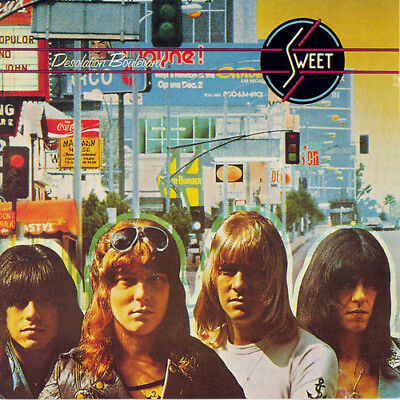 The Sweet : Desolation Boulevard CD Extended  Album (2018) ***NEW*** Great Value • 6.57£
