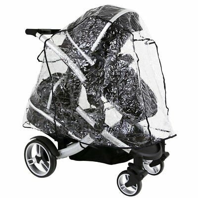 Universal Tandem Rain Cover To Fit ICandy,Baby Style, Hauck, Phil & Teds Tandems • 17.95£
