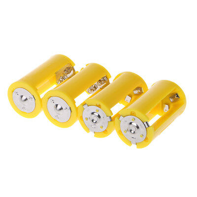 AU9.99 • Buy 4PCS 3 AA To D Size Battery Holder Converter Switcher Plastic Adapter Box Case