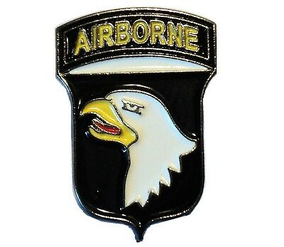 101st Airbourne Division USA US Army Combat Insignia Enamel Military Badge 19mm • 2.49£