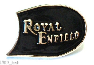 Classic Royal Enfield 1960s British Rocker Motorbike Motorcycle Metal Bike Badge • 2.69£