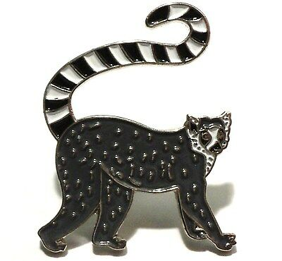 Lemur Madascar Primate Animal Monkey Metal Enamel Pin Badge Brooch NEW • 2.49£