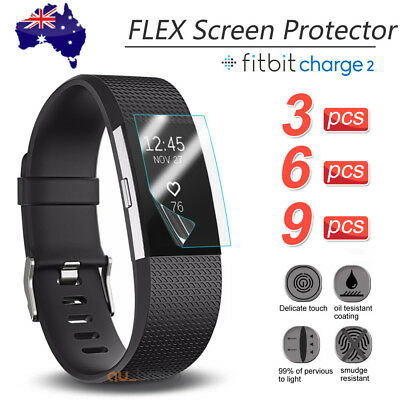 AU2.75 • Buy 3x/6x/9x For Fitbit Charge 2 Compact TPU Hardness LCD Screen Protector Real Film