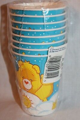 New  In Package Care Bears 8 Cups Party Supplies   • 5.24£