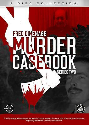 Fred Dinenage Murder Casebook Series Two 2 Disc Set DVD Ft Cannock Chase Murders • 11.99£