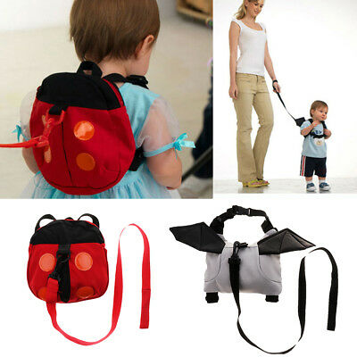 Baby Toddler Walking Safety Backpack Kids Anti-lost Travel Bag Harness Reins • 3.81£