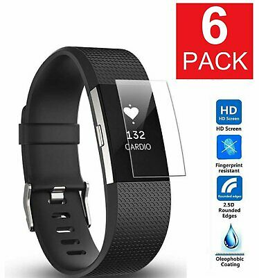 $ CDN6.33 • Buy 6 Pack MagicShieldz HD Clear Full Coverage Screen Protector For Fitbit Charge 2