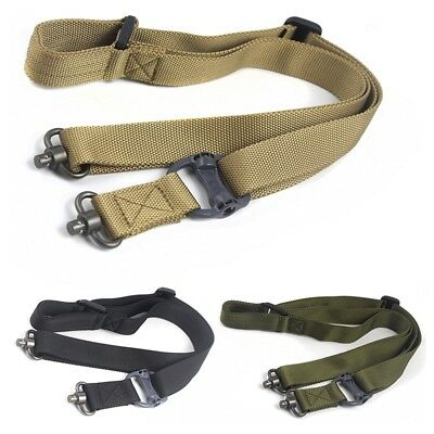 $ CDN10.99 • Buy Hunting Accessories Tactical Rifle Strap Quick Detach QD Swivel Dual Two Points