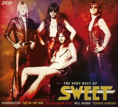 The Sweet : The Very Best Of The Sweet CD 2 Discs (2016) FREE Shipping, Save £s • 3.31£
