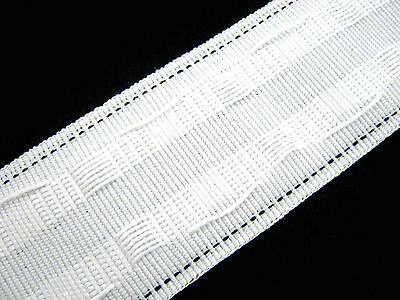 Rufflette 2  Pencil Pleat Curtain Header Tape Purchase By Metre • 1.05£