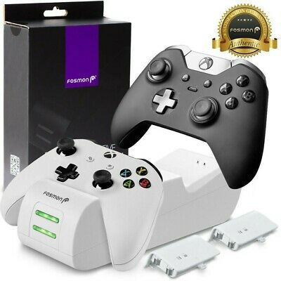 $26.99 • Buy Dual Controller Quick Charge Dock Station Battery Pack For Xbox One S X - White