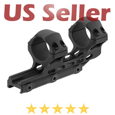 $39.95 • Buy UTG Leapers ACCU-SYNC 30mm High Profile 34mm Offset Picatinny Scope Rifle Rings