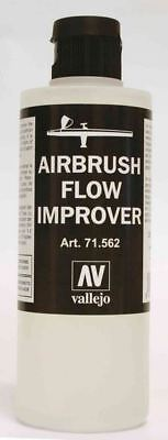 Vallejo Airbrush Flow Improver - 200ml Bottle With Dropper Cap • 11.83£