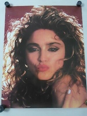 $11.99 • Buy Madonna / Original Vintage Poster / Close-up - Hot Lips / Exc.New Cond. 22 X 28