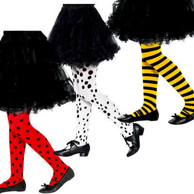 Animal Or Insect Girls Tights Fancy Dress Bug Kids Childrens Costume Accessory • 4.99£