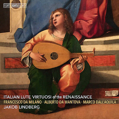 Jakob Lindberg : Italian Lute Virtuosi Of The Renaissance CD Hybrid (2016) • 14.08£