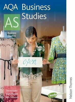 AQA Business Studies AS (Aqa For As),Peter Stimpson, Steven Foden, Diane Mansel • 2.05£