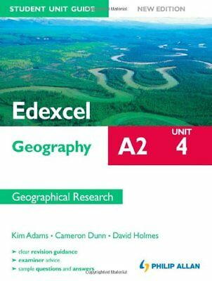£2.95 • Buy Edexcel A2 Geography Student Unit Guide New Edition: Unit 4 Contemporary Geogr,