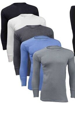 Men's Thermal Warm Winter Underwear Full Sleeve Outdoor Base Layer Shirt Top • 4.94£