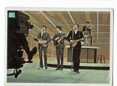 $5 • Buy 1964 Topps Beatles Color Card 61 !!