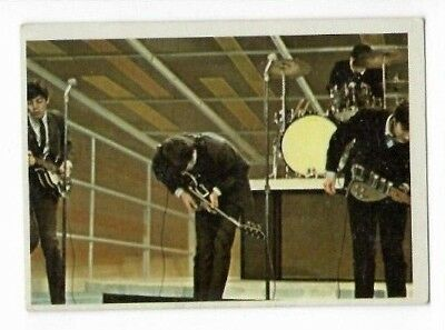 $5 • Buy 1964 Topps Beatles Color Card 36 !