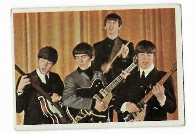 $5 • Buy 1964 Topps Beatles Color Card 22
