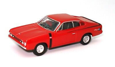 AU19 • Buy 1:87 1972 Valiant Charger R/t Red - Brand New Diecast In Display Case!