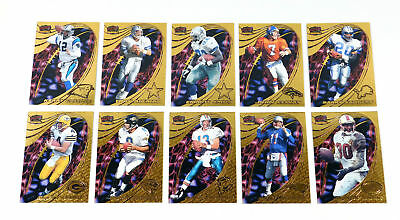 $9.99 • Buy 1997 Pacific Invincible Pop Cards Gold Prize Football Set (1-10)